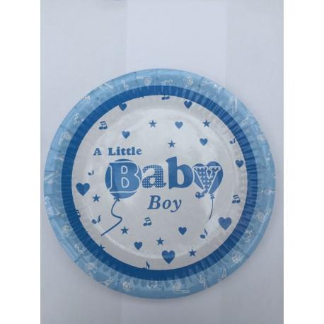 A Little Baby Boy Pap Tallerken fra Toys