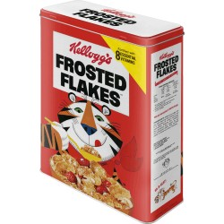 Tin box XL Kellogs Frosted Flakes MetalDåseXL, NostalgicArt, Special edition