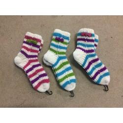 Super lækker strikke strømper. i 3 farver
