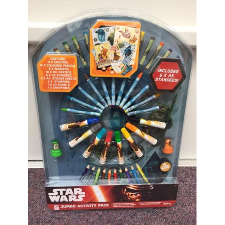 Star Wars jumbo activity Pack - NYHED