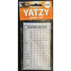 Yatzyblok  standart til lav pris