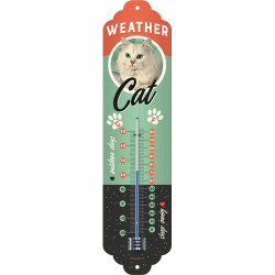 Weather Cat Thermometer fra Nostalgic Art