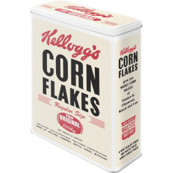 Kellogg´s Corn Flakes Retro Package Metal Dåse XL , Nostalgic Art