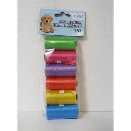 Hunde poser - 6 ruller