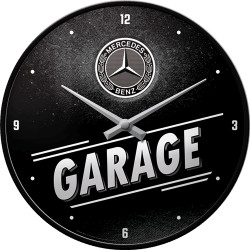 Væg Ur - mercedes garage