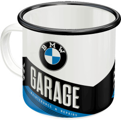 Emalje krus - BMW garage