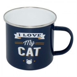 RETRO MUG KRUS I LOVE MY CAT