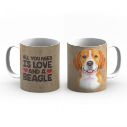 Krus - All you need is love and a Beagle