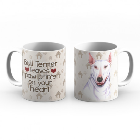 Krus - Bull Terrier leaves paw prints on your heart