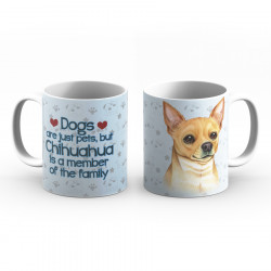 Krus - Dogs are just pets but Chihuahua is a member of the family