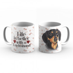 Krus - Life is better with a Dachshund