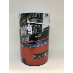 Metal Sparebøsse - London Bus 15X10.cm