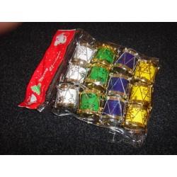 Jule Trommer i pk med 12.stk i 4.farver